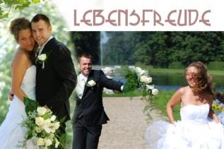 Lustige Brautpaarfotos