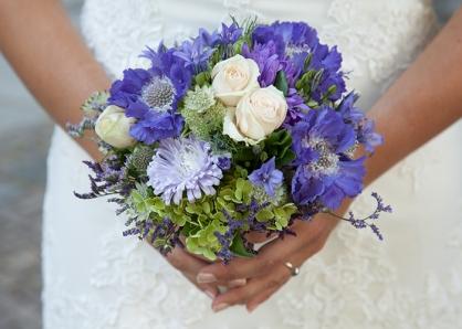 Brautstrauß im Frühling