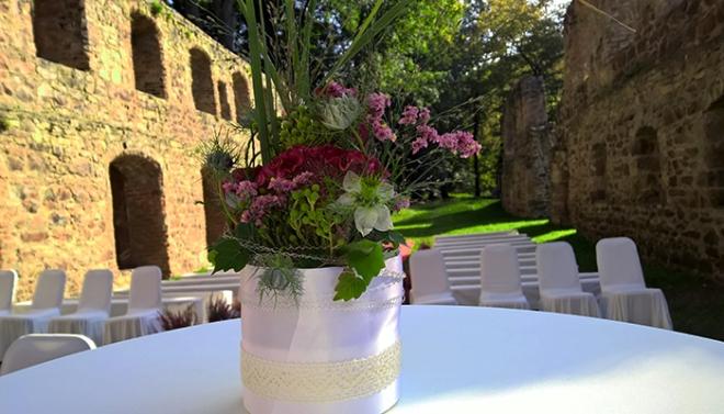 Hochzeit im Herbst auf Kloster Nimbschen