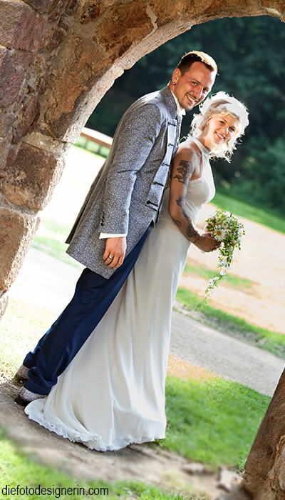 Hochzeitspaar - einfach nur romantisch!