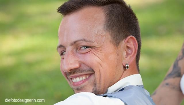 der Bräutigam - Portraitfoto