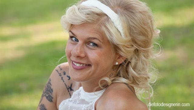 die Braut - Portraitfoto