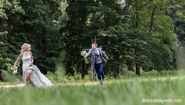 sportliche Hochzeitsfotos