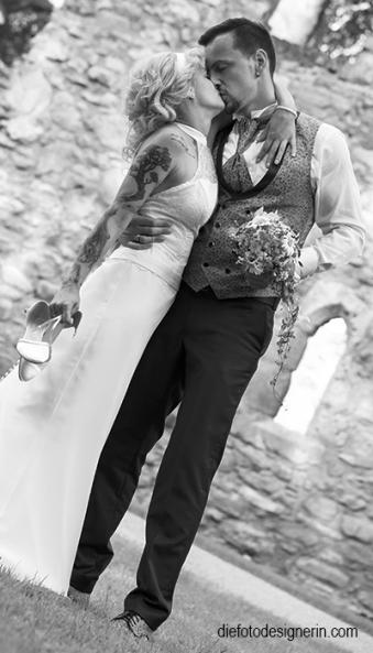 erotische und emotionale Hochzeitsfotos