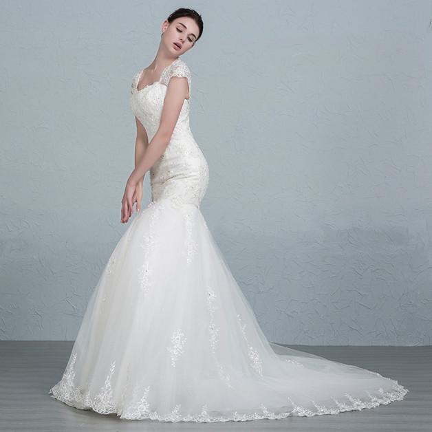 ausgefallenes Brautkleid