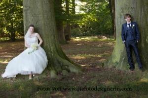 Brautpaarshooting im Park